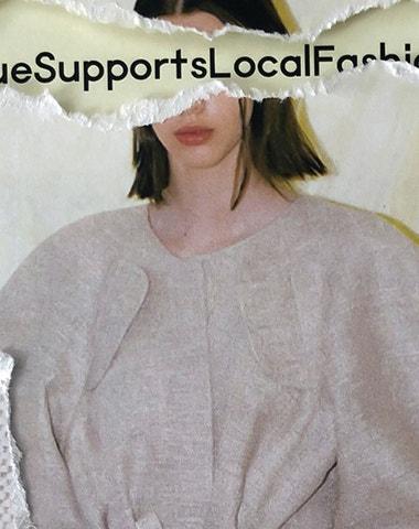 Vogue Supports Local Fashion: Petra Kubíková C OM B IN É pre-fall 2020