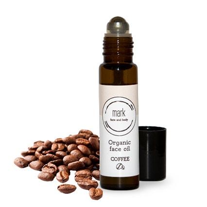 Sérum Organic Face Oil Coffee, Mark (prodává www.markscrub.cz), 30 ml za 489 Kč