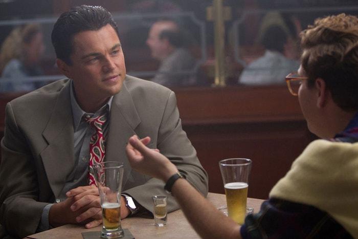 Leonardo Di Caprio ve filmu Vlk z Wall Street