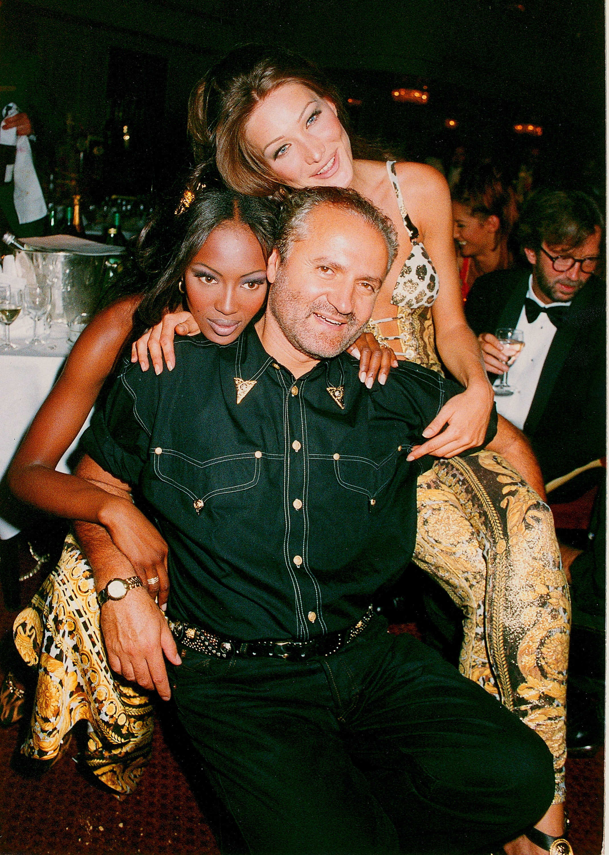 Gianni Versace a Naomi Campbell      Autor: Dave M. Bennett/Getty Images