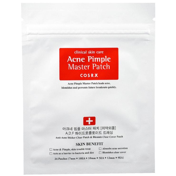 Hydrokoloidní náplasti Acne Pimple Master Patch, Cosrx, prodává Korean Kosmetika), 190 Kč