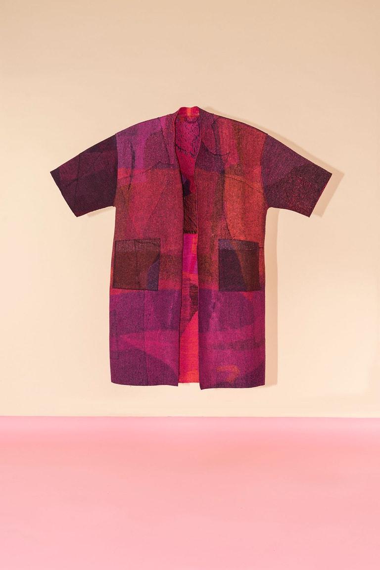 Eileen Fisher, Felted Kimono Coats, 2018