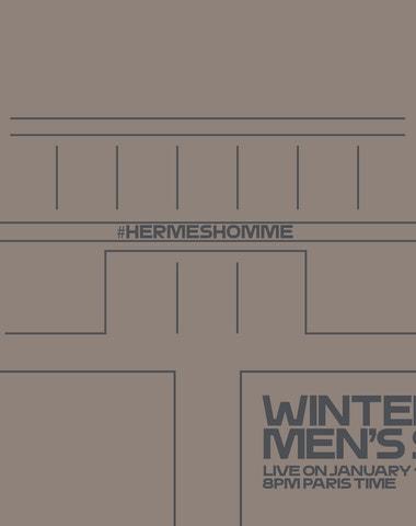 Živě z Paříže: Hermès Men's Show FW20