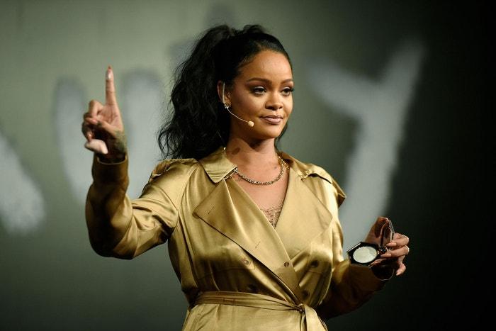Fenty Beauty Artistry and Beauty Talk, Rihanna ve spolupráci ze značkou Sephora, září 2018, Dubaj