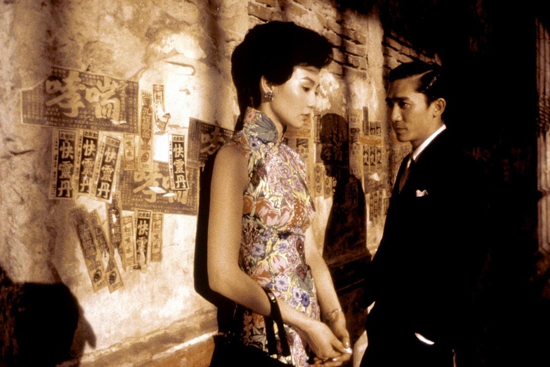 Maggie Cheung a Tony Leung ve filmu Stvořeni pro Lásku, 2000