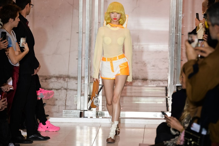Kolekce Courreges jaro/léto 2019, Paris Fashion Week
