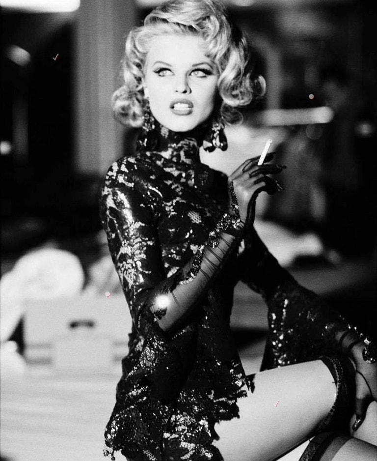 Eva Herzigová pro Vogue Italia