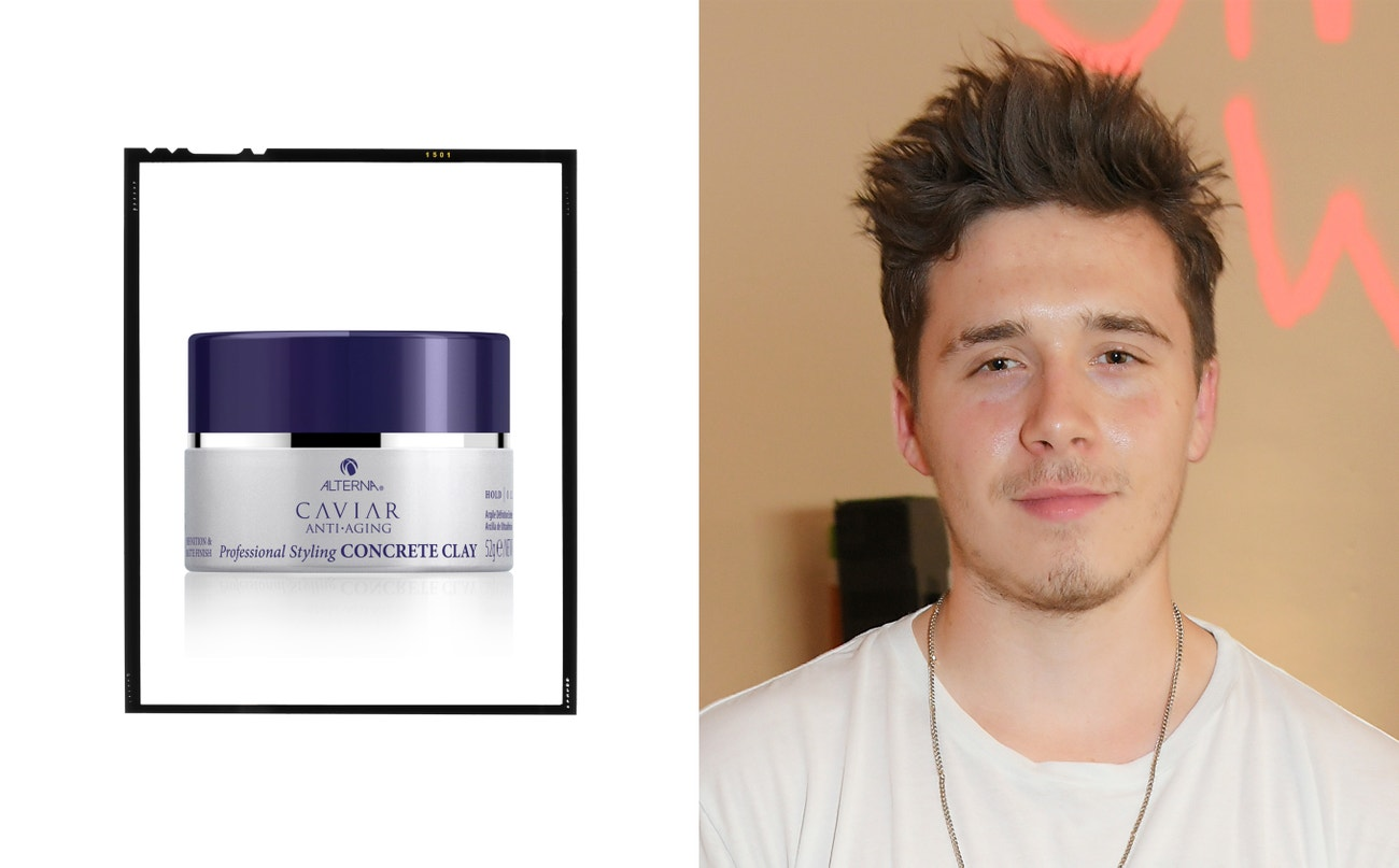 Brooklyn Beckham.  Caviar Anti-Aging Professional Styling Concrete Clay, Alterna, 790 Kč