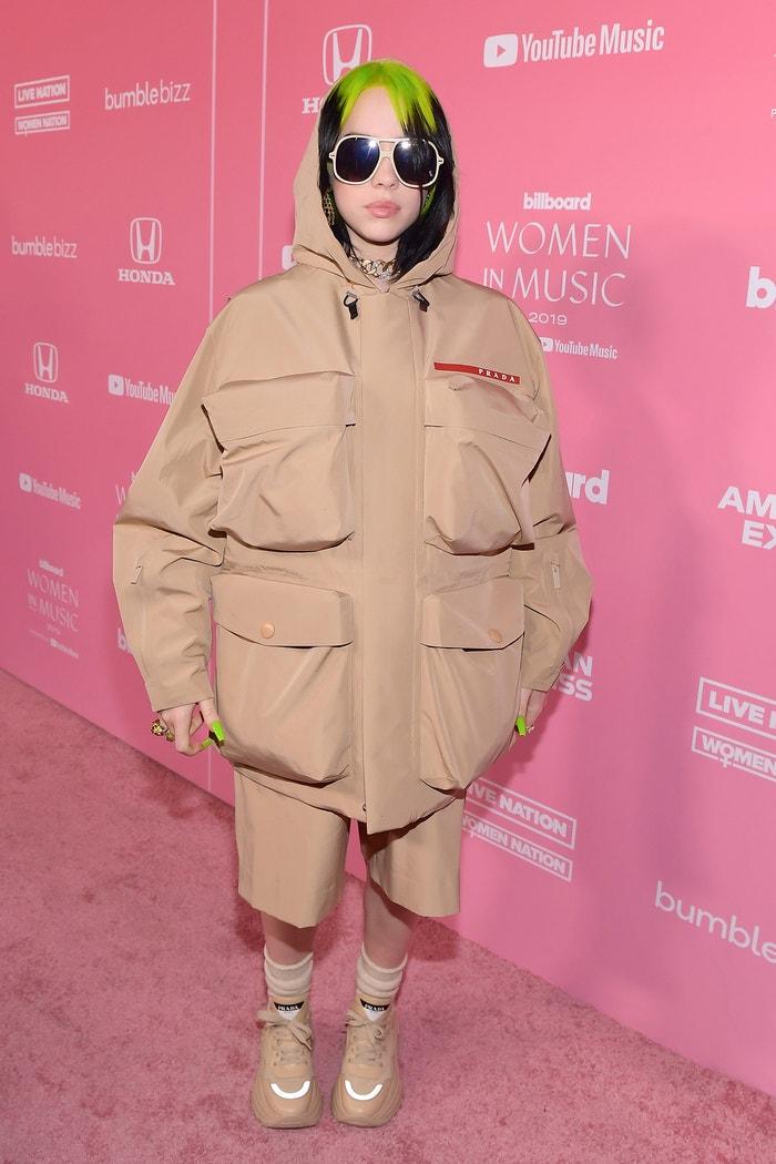 Billie Eilish na akci Billboard Women In Music 2019, prosinec 2019  Autor: Getty Images.