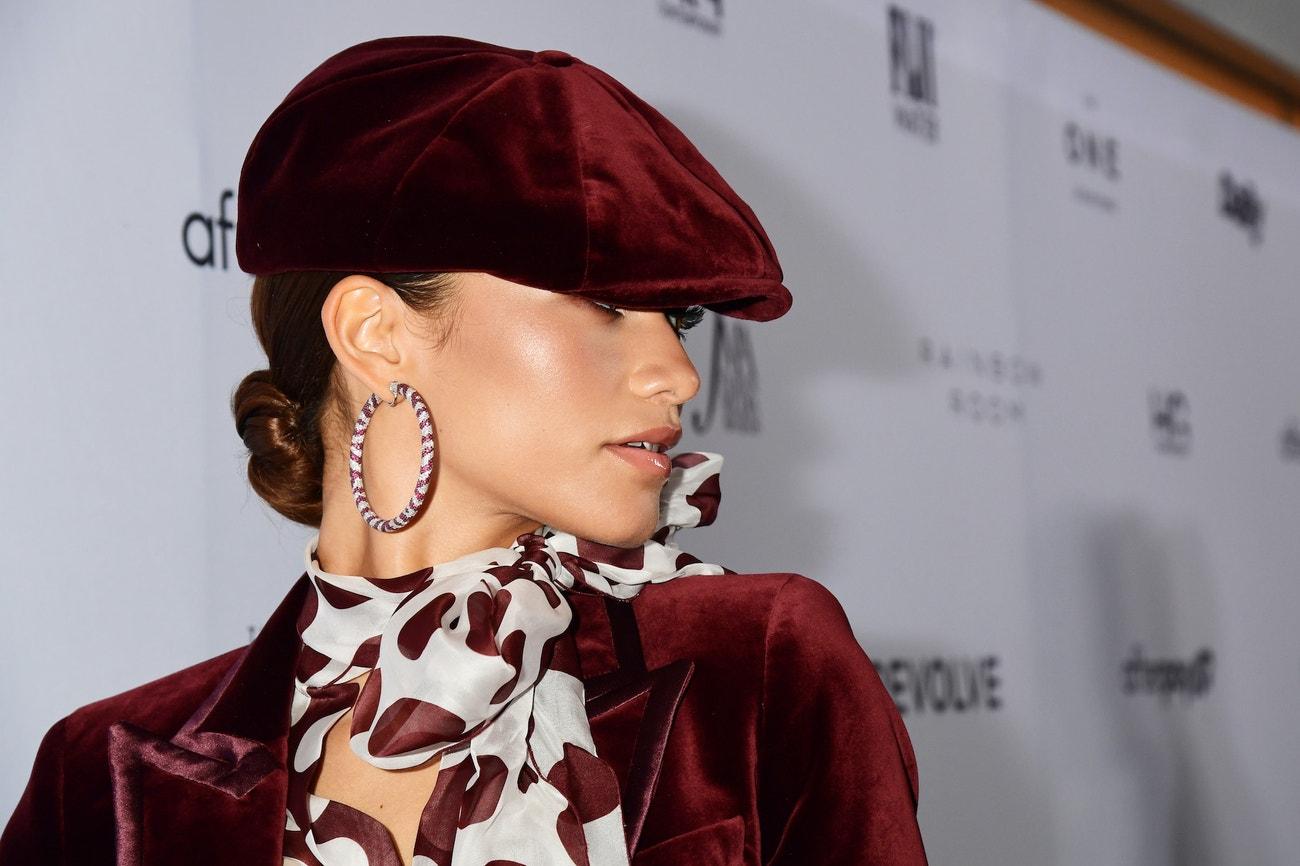 Zendaya na The Daily Front Row Fashion Media Awards v New Yorku