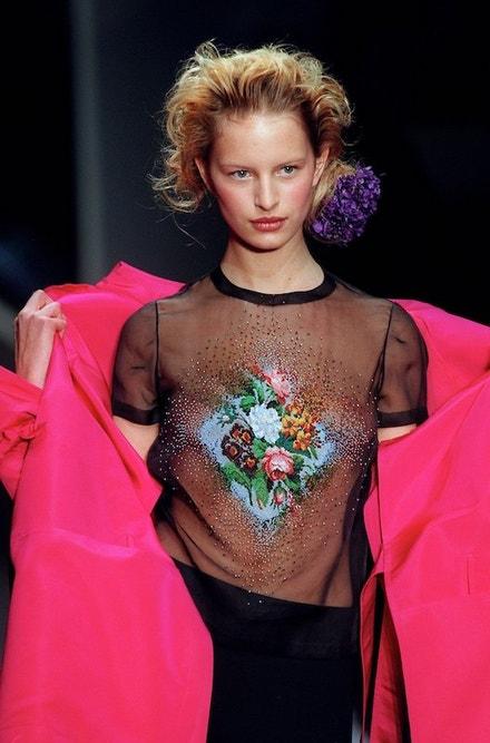 Jean Paul Gaultier Haute Couture jaro - léto 2001