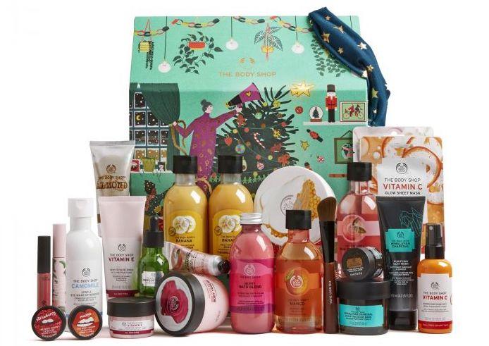 Adventní beauty kalendář Ultime, THE BODY SHOP, prodává TheBodyShop.cz, 2749 Kč
