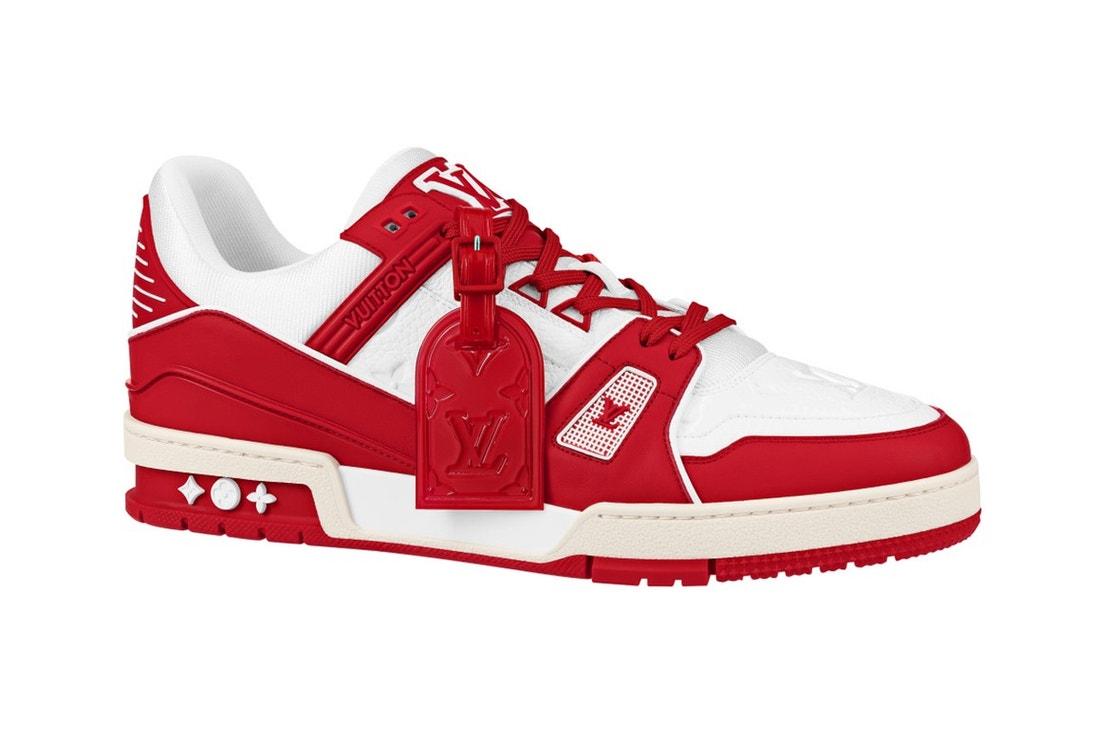 Tenisky Louis Vuitton I (Red) Trainer, LOUIS VUITTON, info o ceně v butiku