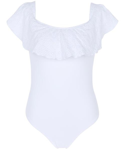 Bílé plavky s volánem, Calzedonia, prodává Calzedonia.com, 2199 Kč