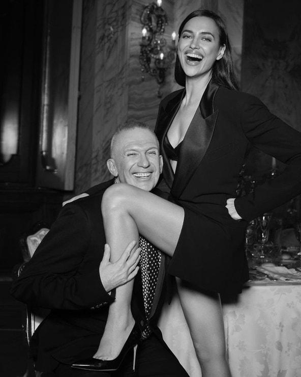 Irina Shayk a Jean Paul Gaultier