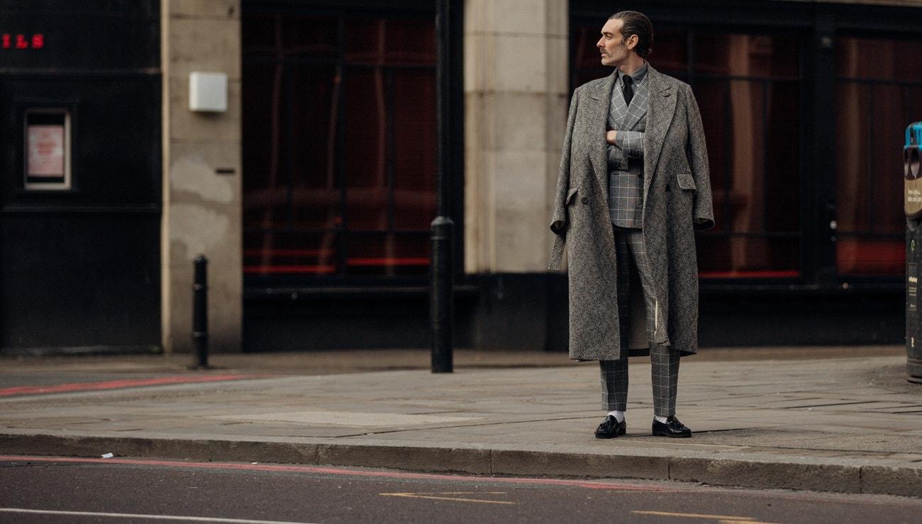 Elegantní street style z pánského fashion weeku v Londýně