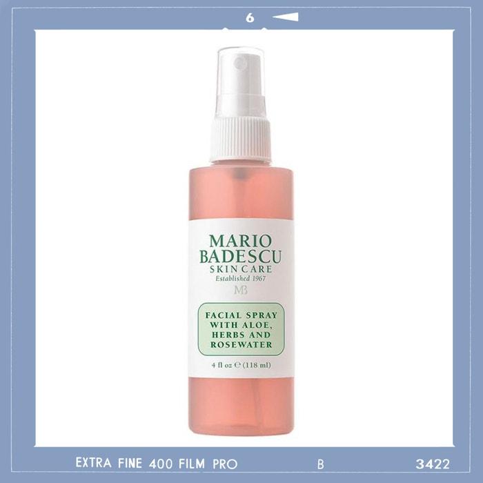 Pleťový sprej Facial Spray with Aloe, Herbs and Rosewater, MARIO BADESCU, prodává Douglas, 249 Kč