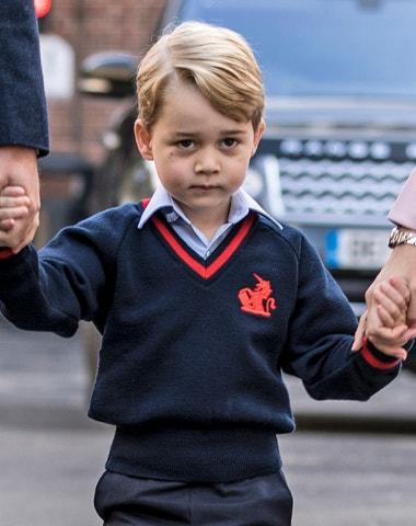 První školní den královských dětí