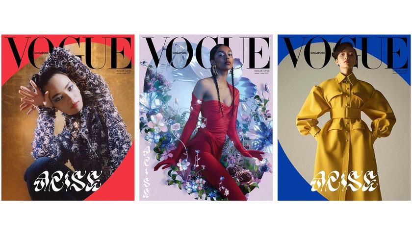 Vítej do rodiny, Vogue Singapore