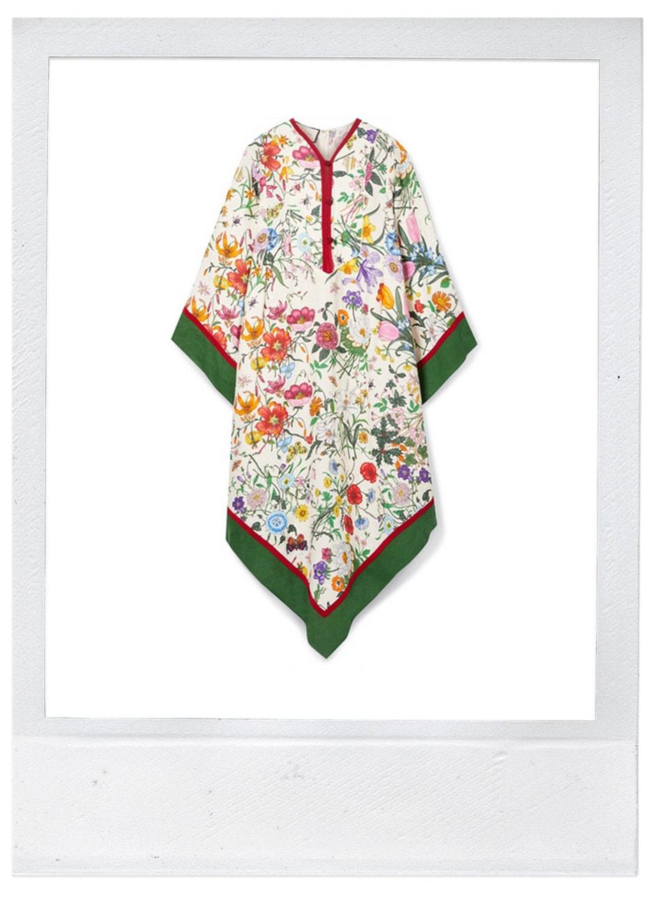 Šaty, Gucci, prodává Net-a-Porter, 2200 €