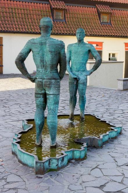 Muzeum Franze Kafky v ulici Cihelná 2b