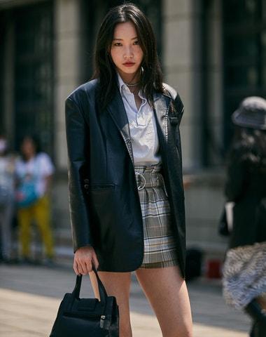 Street style z prvního udržitelného fashion weeku v Tchaj-peji
