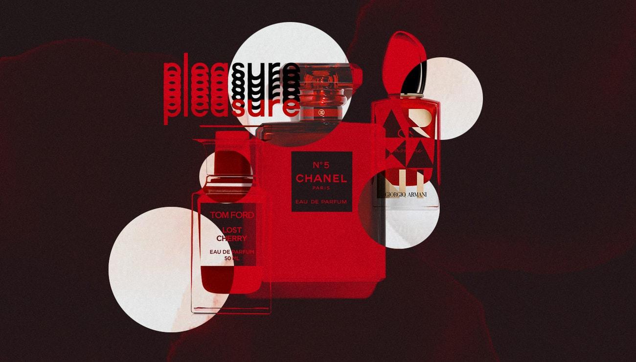 Proč jsou nejlepší parfémy sezony červené