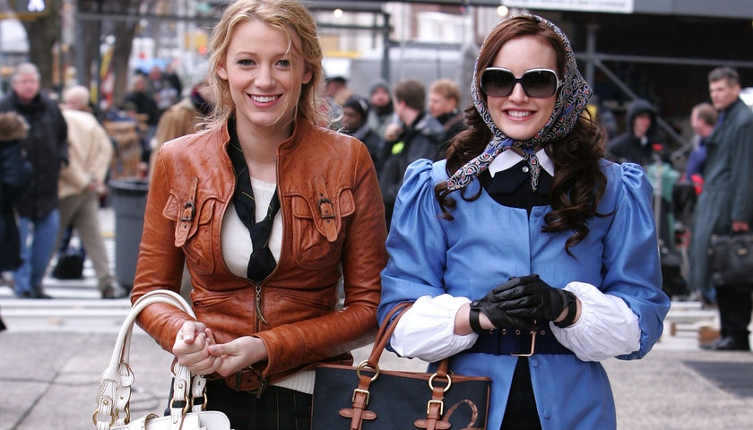Barevné outfity Blair Waldorf z Gossip Girl