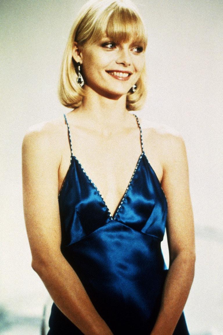 Michelle Pfeiffer, Zjizvená tvář (Scarface/1983).