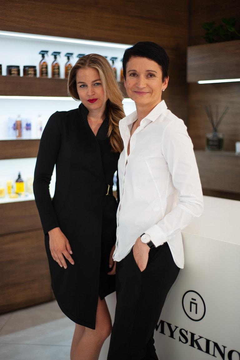 Hana Neubertová a Andrea Hájková