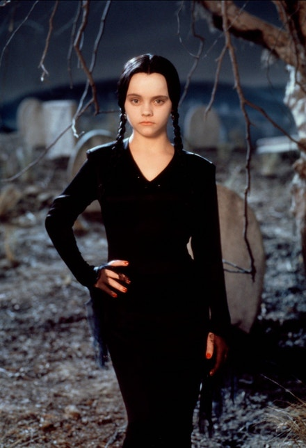 Christina Ricci jako Wednesday Addams (1991)
