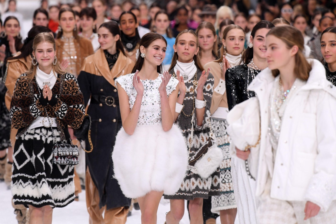 Přehlídka Chanel podzim–zima 2019/2020