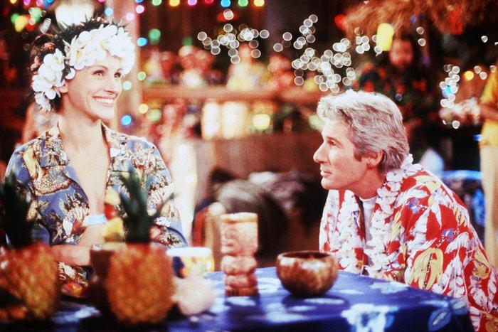 Julia Roberts a Richard Gere ve filmu Nevěsta na útěku, 1999