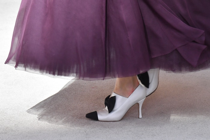 Footwear at Chanel autumn/winter couture 2019.