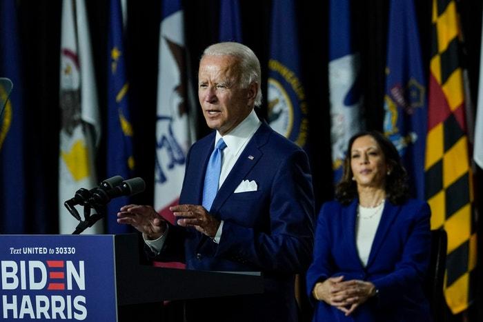 Joe Biden a Kamala Harris
