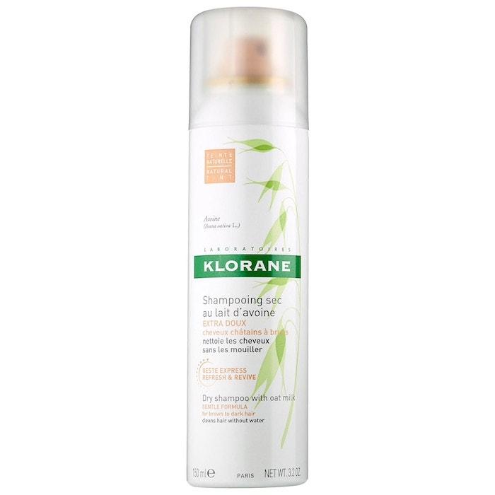 Suchý šampon s ovesným mlékem pro tmavé vlasy, Klorane, 269 Kč
