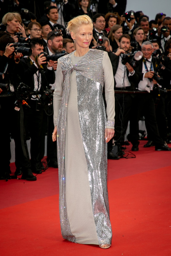 Tilda Swinton v šatech Haider Ackermann Autor: Getty Images