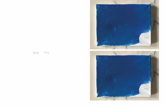 Další z děl Isabely Kreysové, pojmenované Doble Blue