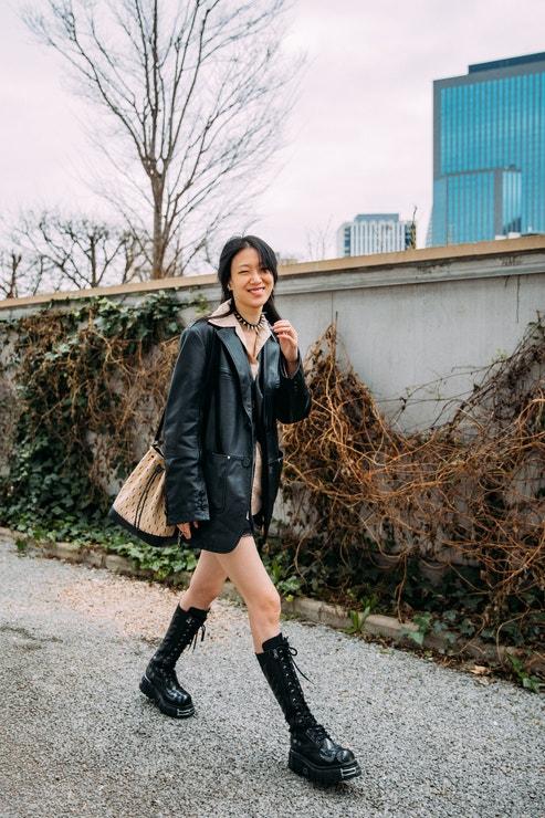 Sora Choi, Paris Fashion Week Fall 2021