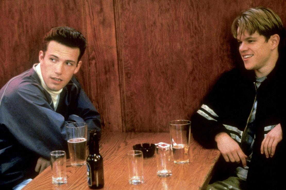 Ben Affeck a Matt Damon ve filmu Dobrý Will Hunting, 1997