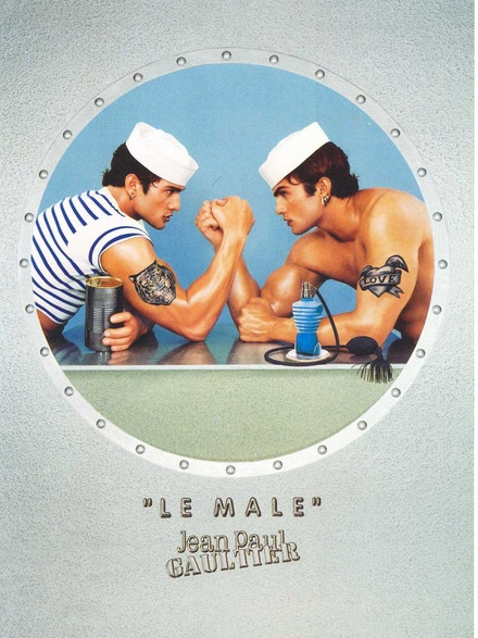 Kampaň Jean-Paul Gaultier Le Male 1995-1998