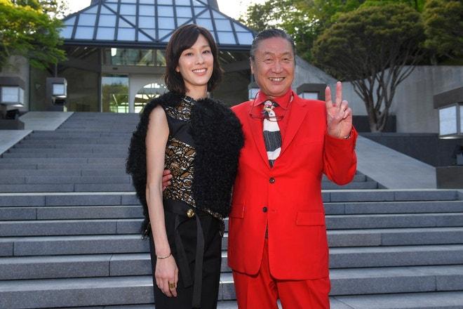 Kansai Yamamoto a jeho dcera Mirai Yamamoto