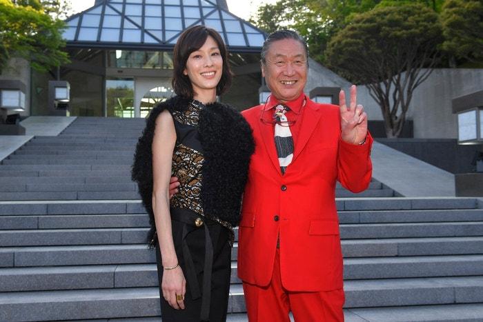 Kansai Yamamoto a jeho dcera Mirai Yamamoto Autor: Getty Images