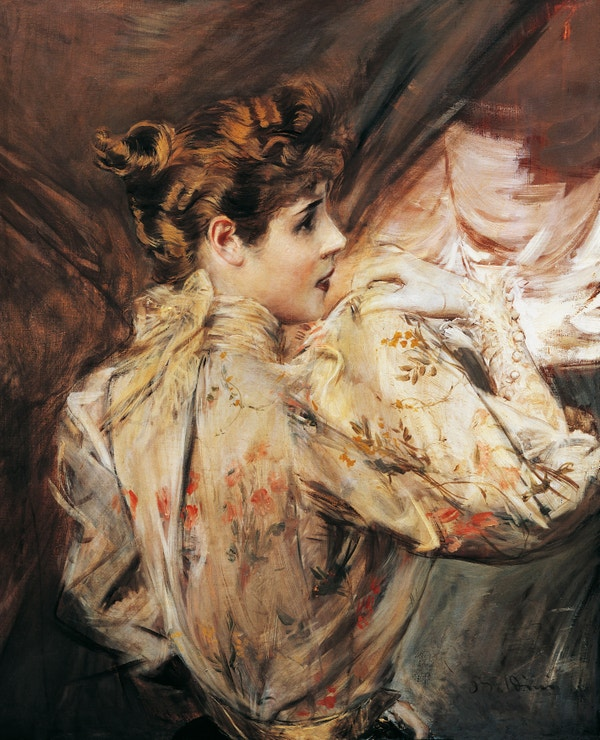 Portrait of Eleonora Duse, Giovanni Boldini, circa 1895, private collection