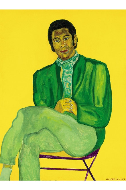 Beauford Delaney: Portrait of a Young Musician, 1970 (Black Refractions: Highlights from The Studio Museum in Harlem)