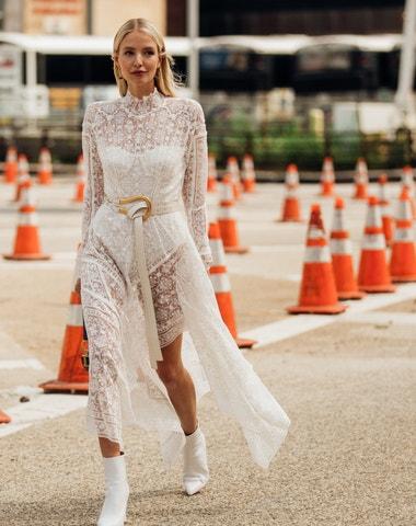 Street style z newyorského fashion weeku