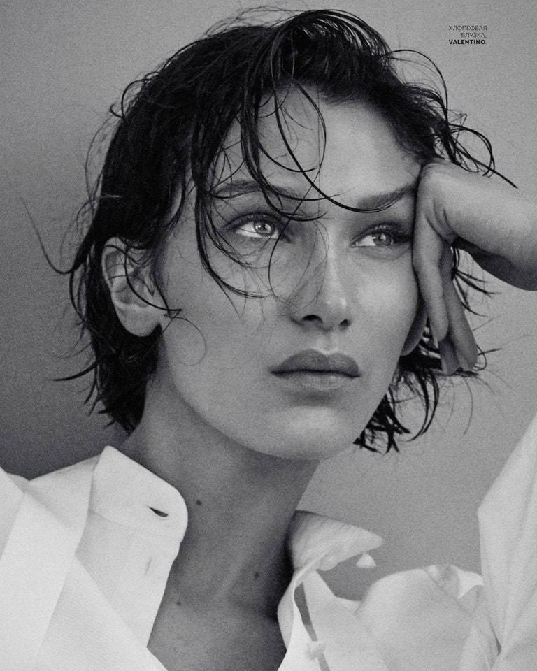 Bella Hadid pro Vogue Russia