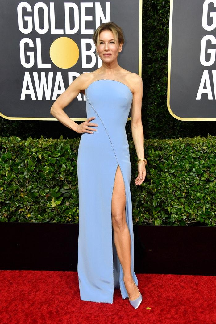 Renée Zellweger na Zlatých glóbech, 2020 Autor: Getty Images