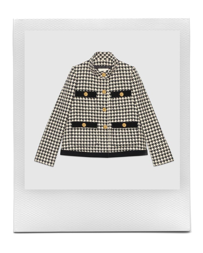 Houndstooth jacket, Gucci, sold by Gucci, 2,600 EUR