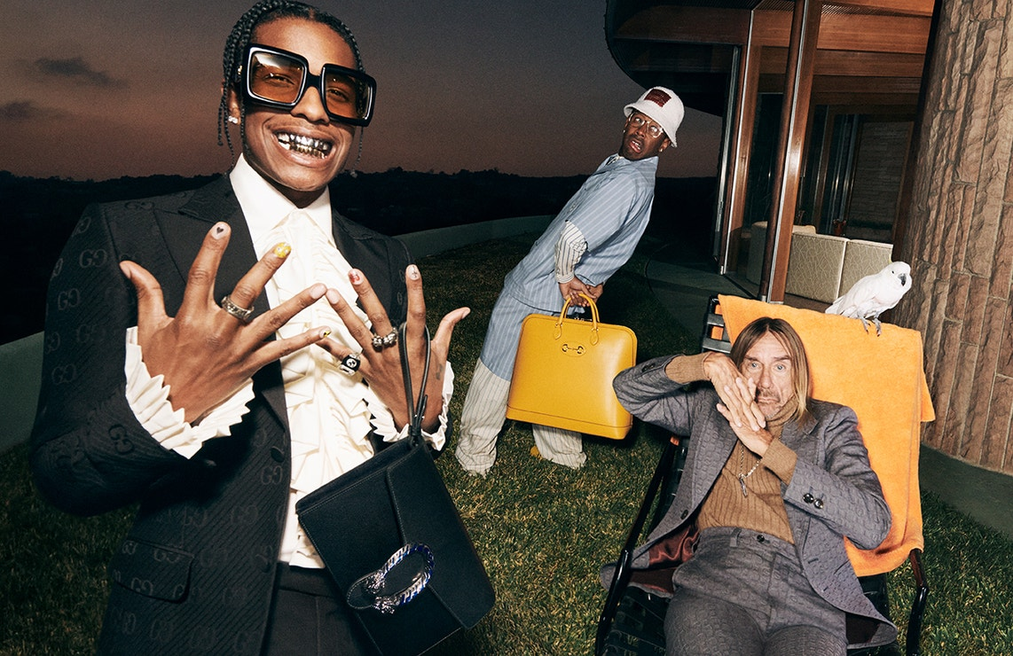 Gucci Men's Tailoring Campaign: Life of a Rock Star